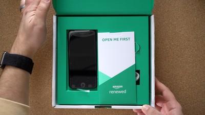 amazon refurbished iphone box