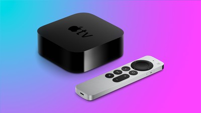 apple tv 4k design clue
