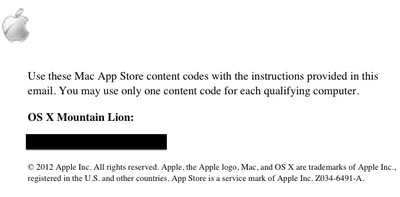 mountain lion up to date form 3