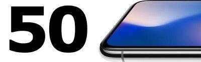 50 iphone x