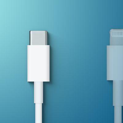 USB C Over Lightning Feature