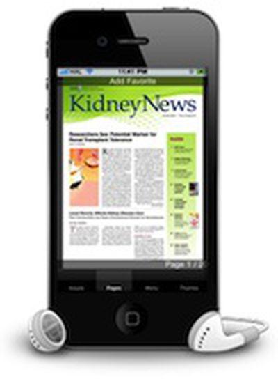kidney news iphone