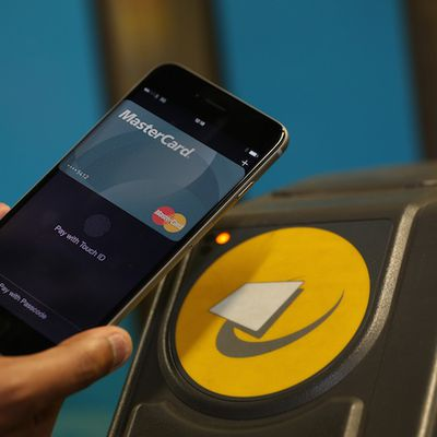 MasterCard Apple Pay