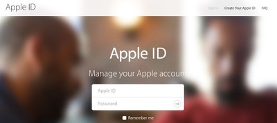 Apple-ID-sign-in