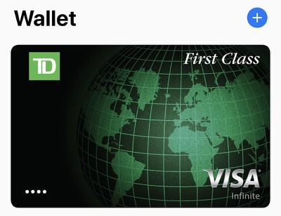 wallet app card