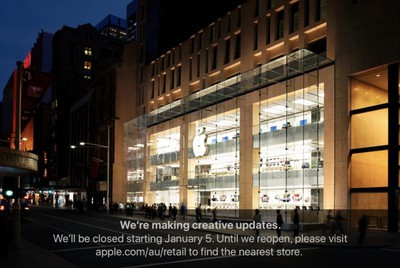 apple sydney closure