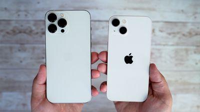 iphone 13 et iphone 13 pro max