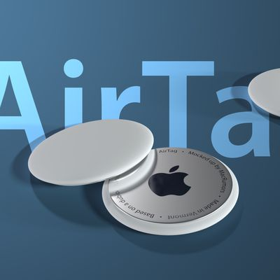 airtags mockup 4 blue text