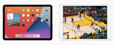 ipad air displays
