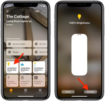 change homekit icons 0