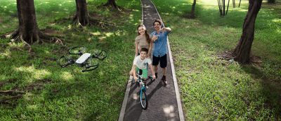 content DJI Spark Family Bike Ride