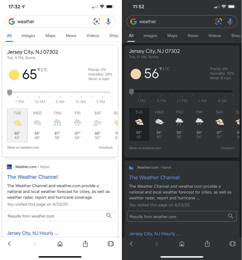 Google Finally Has a Dark-mode For its Search App