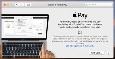 macos wallet and apple pay