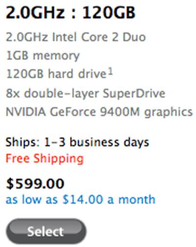 122417 mac mini shipping date