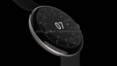 pixel watch screen prosser leak
