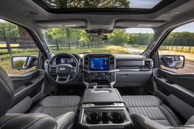 2021 f150 interior