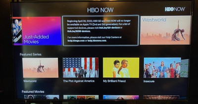hbo now atv discontinued