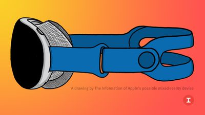 apple mixed reality headset mockup feature orange