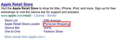164746 personal shopping google