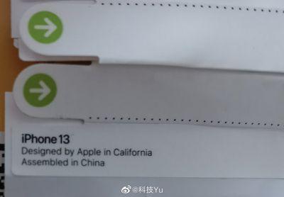 iphone 13 label