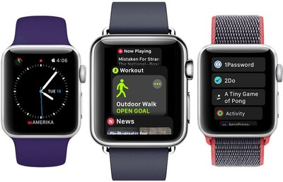 watchos 4 apps