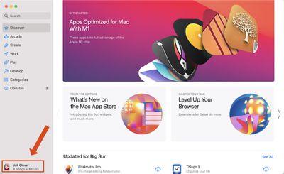 mac app store profile