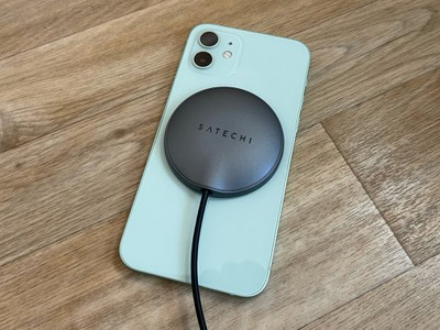 satechi magnetic charger iphone
