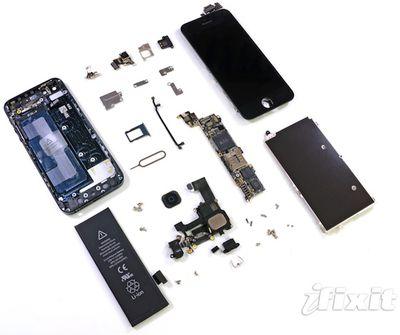 iphone 5 teardown complete