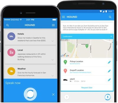 hound iOS app