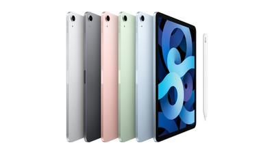 new ipad air 4 colors apple pencil