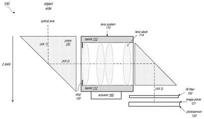 apple folded camera patent