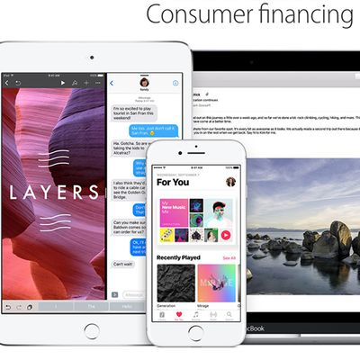 apple consumer financing