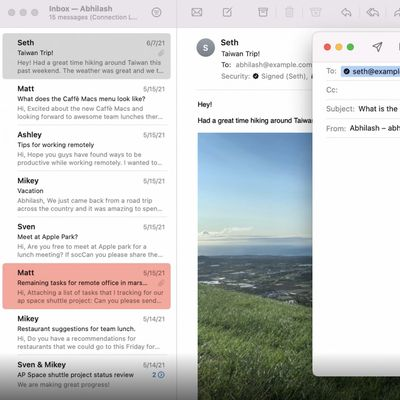mail app extensions macos monterey