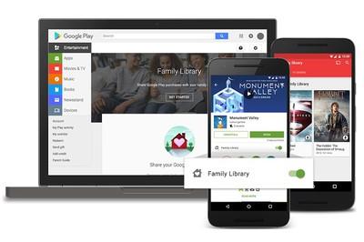 Google Family-Library