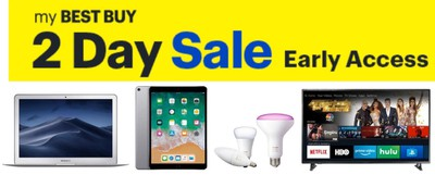 best buy 2 day sale october 2018