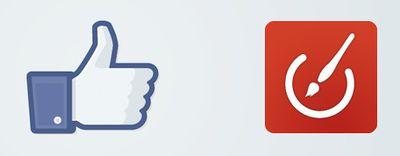 facebook acrylic
