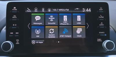 accord hybrid display audio 2