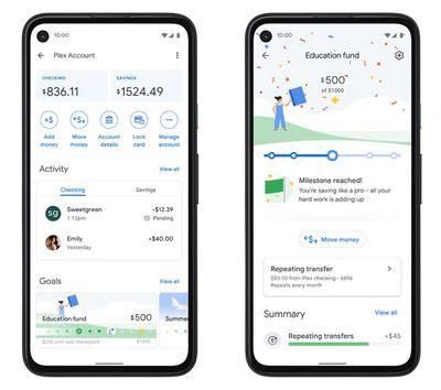 google pay app plex account
