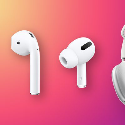 AirPods Lineup Feature Triad