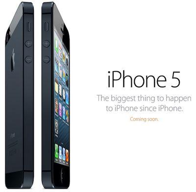 iphone 5 coming soon