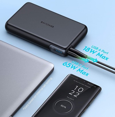 ravpower power bank charging