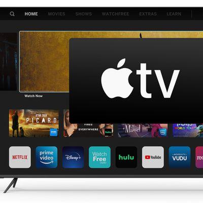 vizio apple tv app