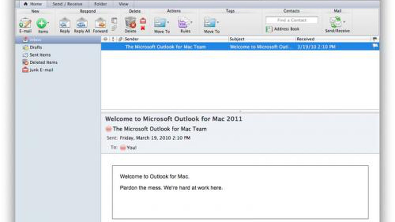 Outlook 2011 for mac updates