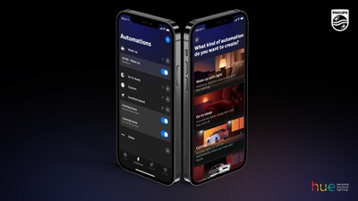 hue app automations