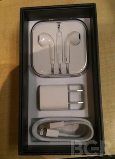 iphone 5 unbox open