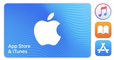 itunes gift card via paypal