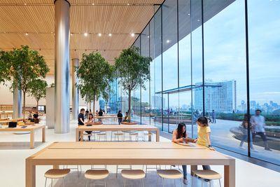 apple bangkok store opening interior 11072018