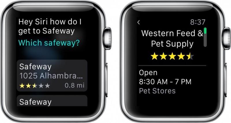 Apple Watch Apple Maps 3