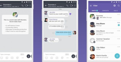 Viber secret chats