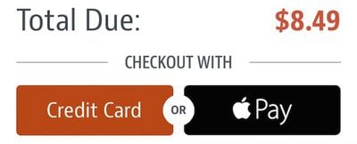 ChowNow Apple Pay
